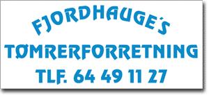 Fjordhauges tømrer